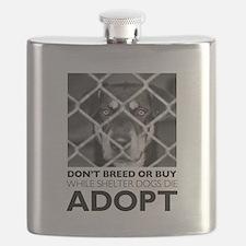 Shelter Dog Flask