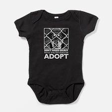 Shelter Dog Baby Bodysuit