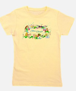 Cute Mermaid parade Girl's Tee