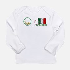 Cute Mexico soccer Long Sleeve Infant T-Shirt