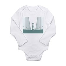 San Long Sleeve Infant Bodysuit