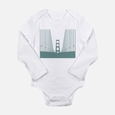 Francisco Long Sleeve Infant Bodysuit