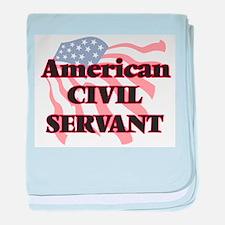 American Civil Servant baby blanket