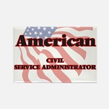 American Civil Service Administrator Magnets