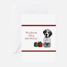 Cute German shorthaired pointer Greeting Cards (Pk of 20)