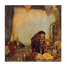 Dulac Alchemist Tile Coaster
