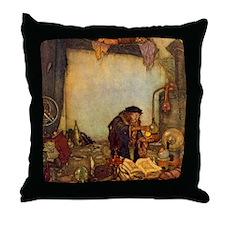 Dulac Alchemist Throw Pillow