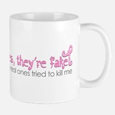 Yes, Theyre fake.... Mugs