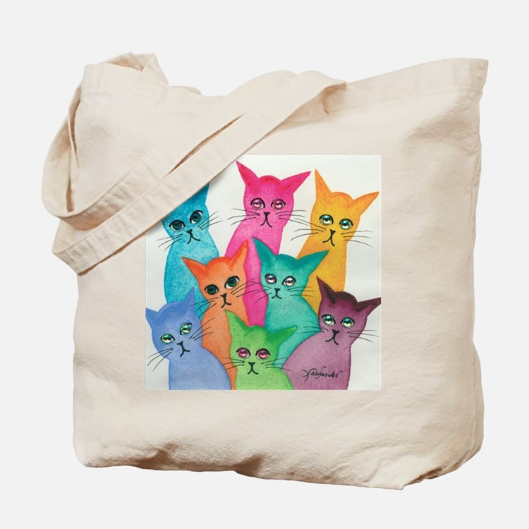 Cute Cat lover Tote Bag