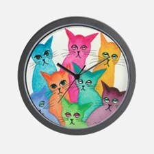 Cool Strays Wall Clock