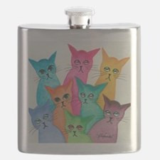 Funny Strays Flask