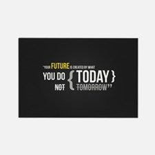 Cute Motivational quotes Rectangle Magnet (10 pack)