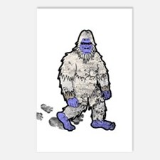 Yeti Postcards (Package of 8)
