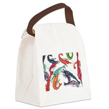 shrimp party Canvas Lunch Bag