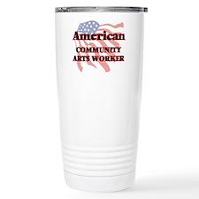 American Community Arts Travel Coffee Mug