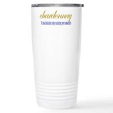 Cute Chardonnay Travel Mug