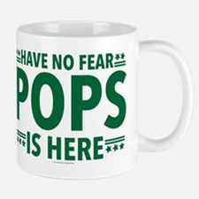 Pops Is Here Mugs