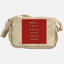 What if I fall Messenger Bag