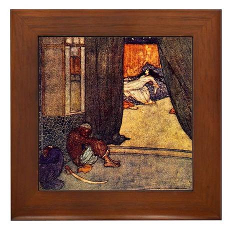 Arabian Dreams Framed Tile