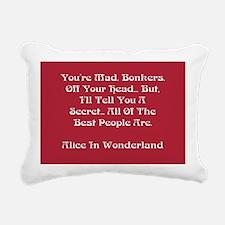 You're Mad Rectangular Canvas Pillow