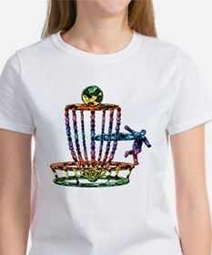 Funny Disc golf basket Tee