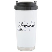 Cute Snowshoe Travel Mug