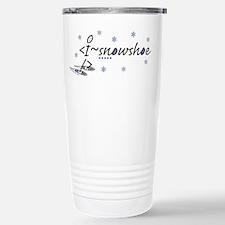 Cute Snowshoe Travel Mug