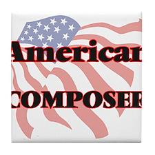 American Composer Tile Coaster