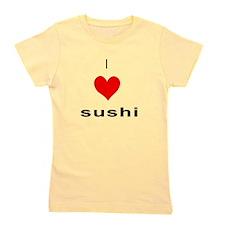 Unique I heart sushi Girl's Tee