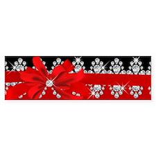 Diamond Delilah (Red) Bumper Sticker