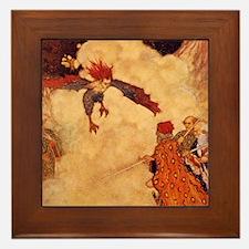 Ariel Framed Tile