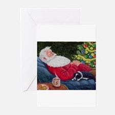 Santa and Breagh Greeting Cards