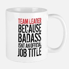 Badass Team Leader Mugs