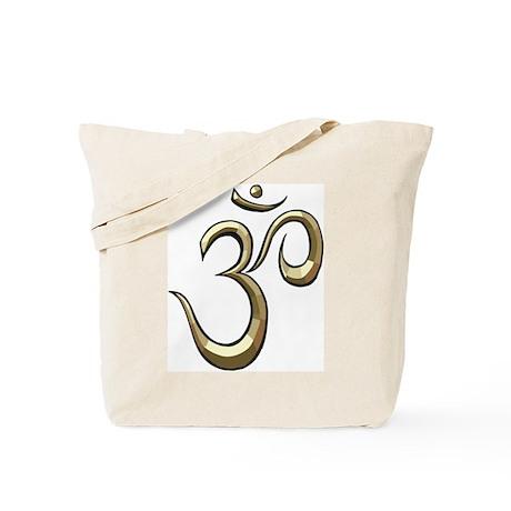 Golden Om Tote Bag