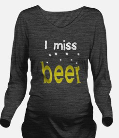 Unique Beer Long Sleeve Maternity T-Shirt