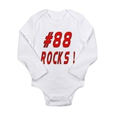 Cute Jarrett Long Sleeve Infant Bodysuit