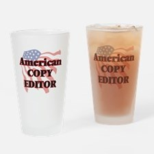 American Copy Editor Drinking Glass