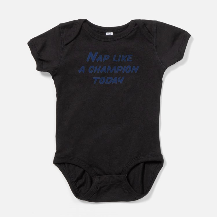 Cute Play like a champion today Baby Bodysuit