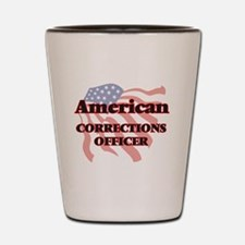 American Corrections Officer Shot Glass