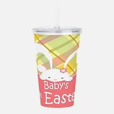 Baby's 1st Easter Acrylic Double-wall Tumbler