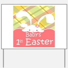 Baby's 1st Easter Yard Sign