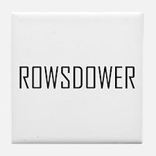 Rowsdower Tile Coaster
