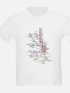 Cute Train station T-Shirt