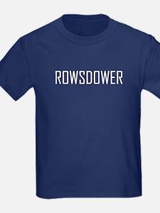 Rowsdower T