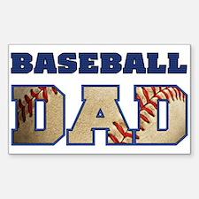 baseball dad Decal