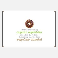 Organic Donuts - Banner