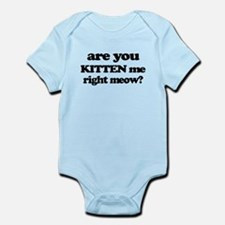 Are You Kitten Me Right Meow Body Suit