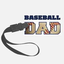baseball dad Luggage Tag