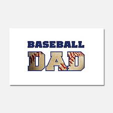 baseball dad Car Magnet 20 x 12