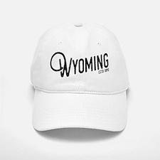 Wyoming Script Baseball Baseball Cap
